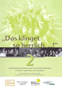 Einsingbuch_Band 2_Cover