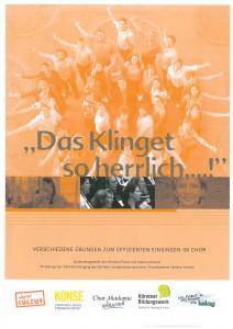 Einsingheft_Band-1_Cover